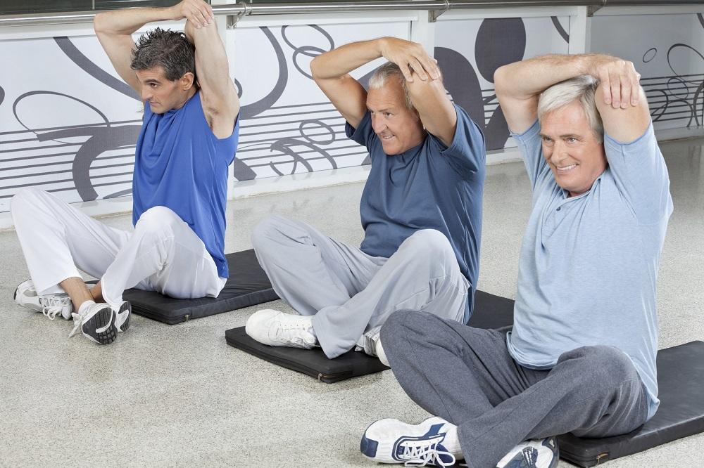 Männer-Gymnastik klein