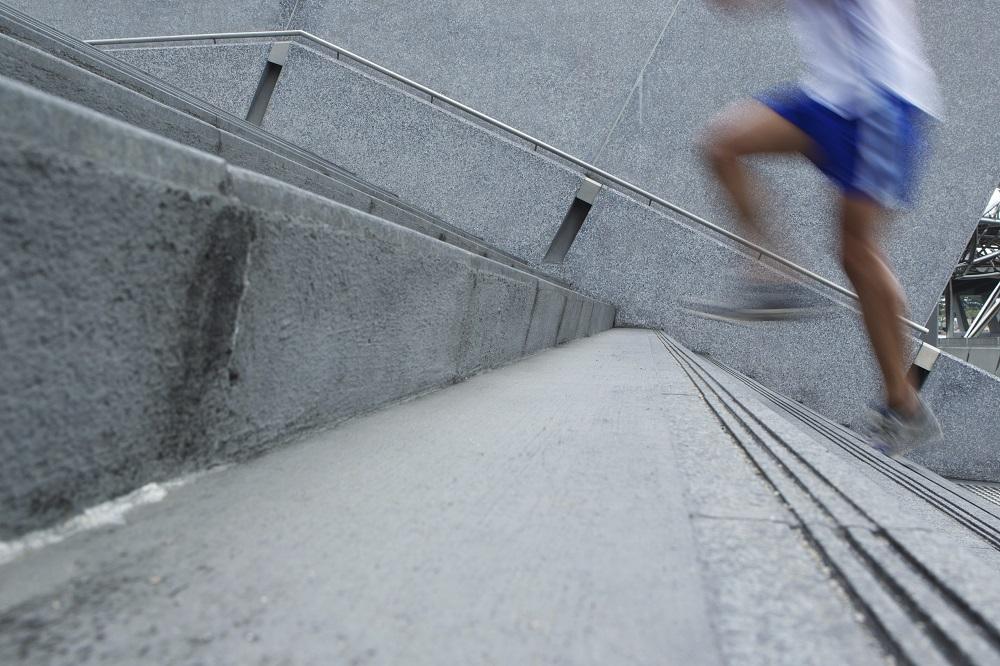 Treppenlauf klein