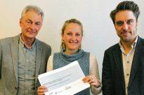 Haben die Umfrage entwickelt: Jürgen Rode, Institut kommunale Sportentwicklungsplanung (l.), Susanne Möller, Abteilungsleiterin Sport in der Stadtverwaltung, und Michael Barsuhn, Institut für kommunale Sportentwicklungsplanung.