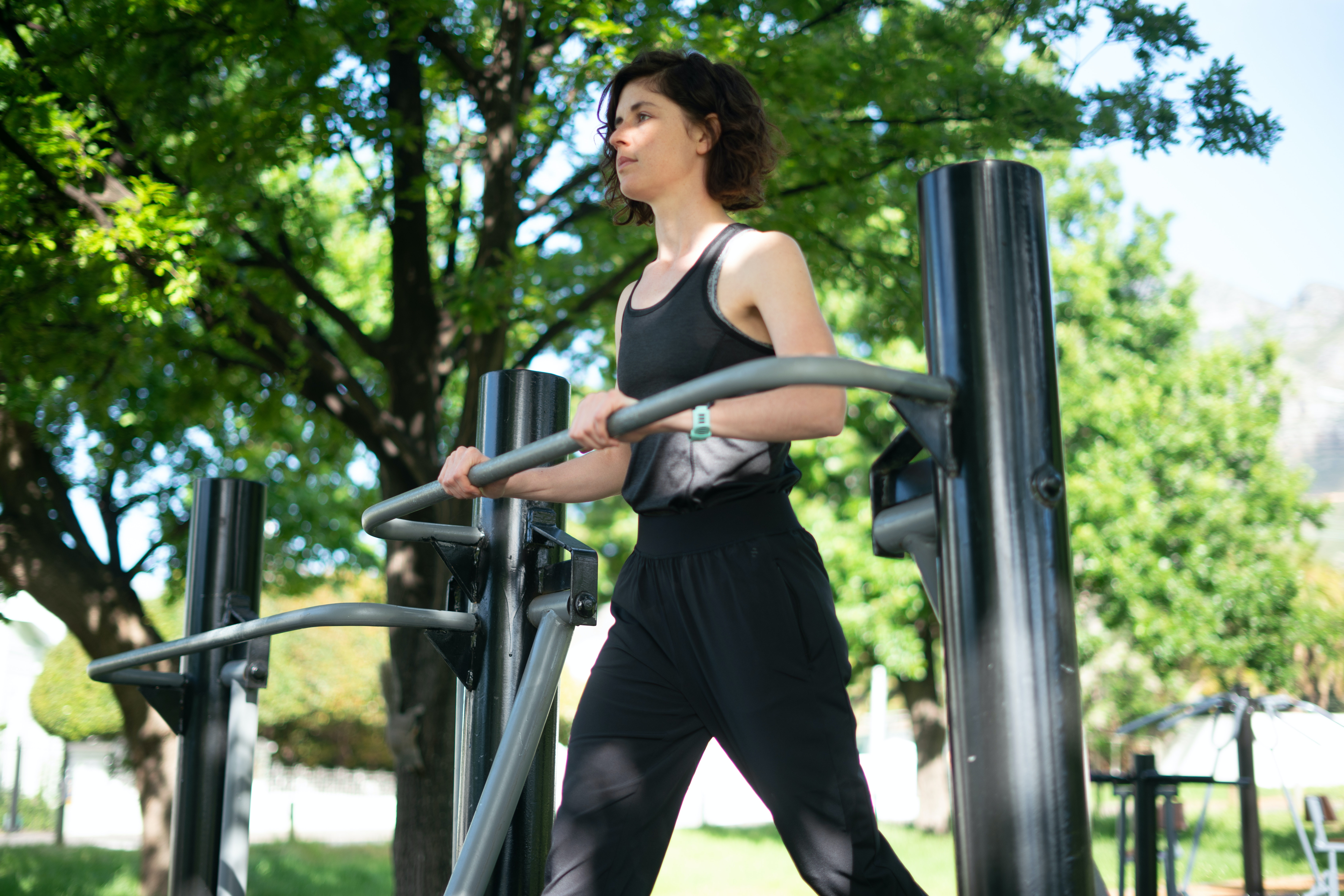You are currently viewing Outdoor-Fitness am Helmholtzplatz im Berliner Bezirk Pankow